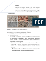 Informe Sobre Materiales Petreos