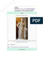 Greek Goddes Athena Wiki
