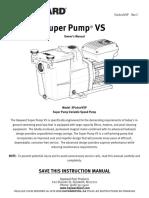 Super Pump vs Manual SP2600VSP