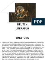 Deutch Literatur