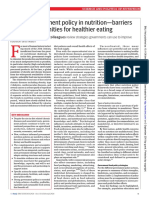 Politicas alimentarias