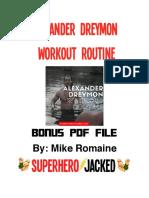 Alexander Dreymon PDF