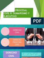 Derecho Procesal Civil II Sumarisimo