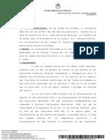 Resolución Boletas PASO no válidas