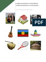 Asociar Objetos la Cultura Mapuche
