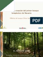 Marisa Aristu Primer Bosque Terapeutico de Navarra