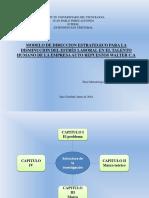 Modelo de Direccion Estrategico Para La Disminucion Del