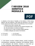 Genetics Module A