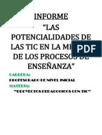 Potencialidades de Las TIC.
