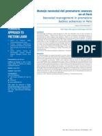 Neonatología en Perú