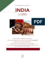 Hombres en India
