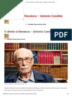 O direito à literatura