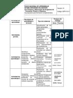 cronograma de actividades seguridad en instalaciones electricas sena