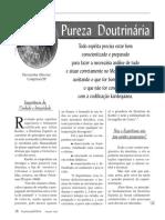 Pureza Doutrinaria