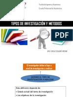 Sesion 2 Metodos y Tipo Investigacion