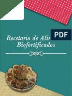 Recetario de Alimentos Biofortificados