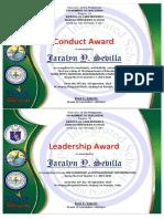 Certificate 1st Quarter
