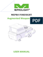 Mepro Foresights Manual