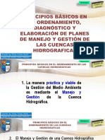 Ordenamiento, Diagnóstico y Elaboración de Planes de Manejo y Gestión de Las Cuencas Hidrográficas