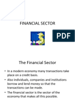 Financial Sector Part 2