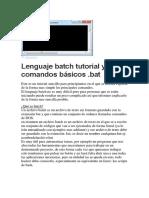 Manual Básico Batch