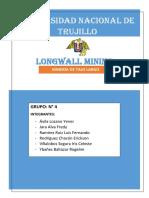 LONGWALL MINING INFORME GRUPO N° 4