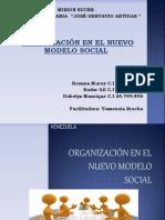 organización en el nuevo modelo social