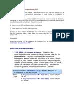 Modelo de Declaracion