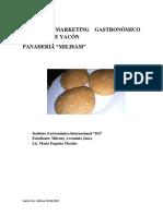 Plan de Marketing Gastronómico Para Pan de Yacón