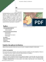 Placa Tectónica – Wikipédia, A Enciclopédia Livre