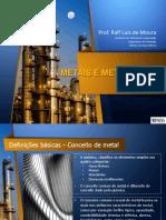 Unidade Viii - Metais e Metalurgia