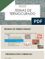 Expo Biomateriales Resinas Termopolimerixacion