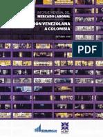 La migración de la población venezolana.