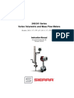 Flow meter 240 Instruction manual