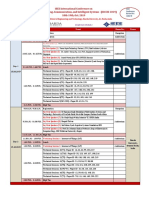 IEEE Conference Schedule-2019