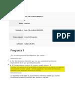 Evaluación Direccion Comercial