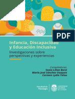 Infancia Discapacidad y Educacion Inclusiva