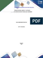 Protocolo de la práctica de laboratorio de Biología