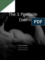 Principle Diet