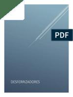 DESFERRIZADORES