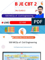 500 MCQs of Civil Engineering-Part B - Sandeep Jyani Wifistudy