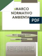 Marco Normativo Ambiental