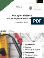 [Slides] - Novo Regime de Controlo Das Instalações de Serviço Particular - DGEG