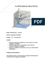 Aplicando Integrales Multiples(2)