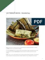 tamales mayas