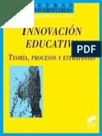 Innovación educativa. Teoría, procesos y estrategias - Manuel Rivas Navarro.pdf