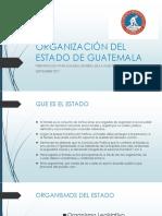 Organización Del Estado de Guatemala
