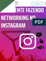 Fazendo Networking no Instagram