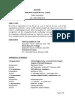 CV of Mansur