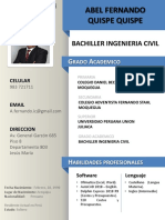 CV Abel Fernando Quispe Q D